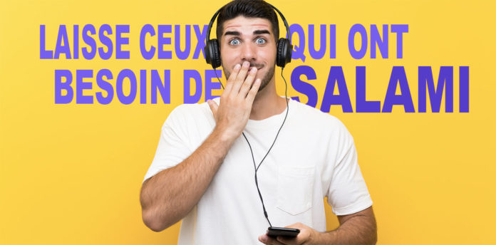 Auditory hallucinations in French songs