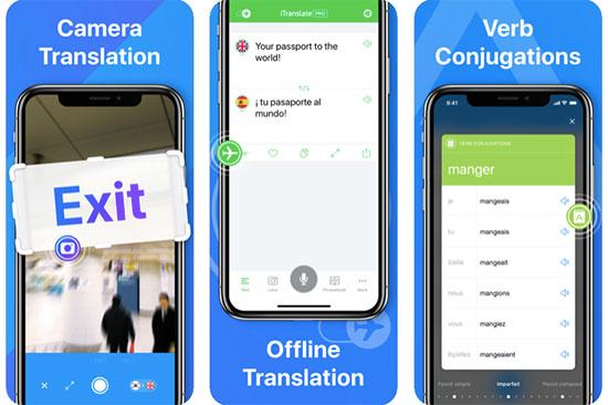 Use a translation app like iTranslate