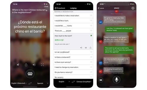 Use translation apps